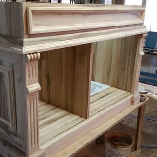 Comodă lemn masiv