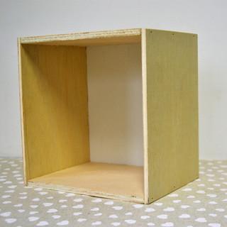 Cutie pătrată placaj