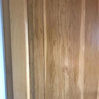 Uşă înainte de reparaţie