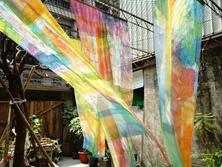 台湾での生活と染色のしごと