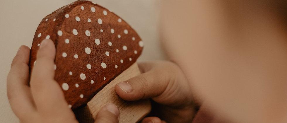 Wooden Toadstool