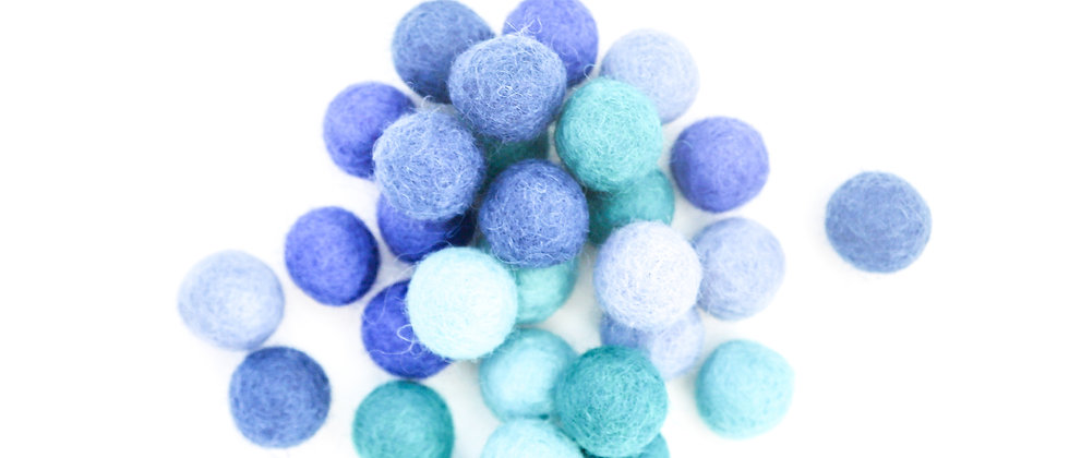 Ocean Felt Balls