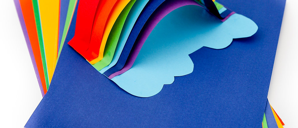 Rainbow Activity Paper And Card Pack