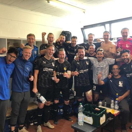 Die erste Mannschaft gewinnt im Pokal gegen RSV