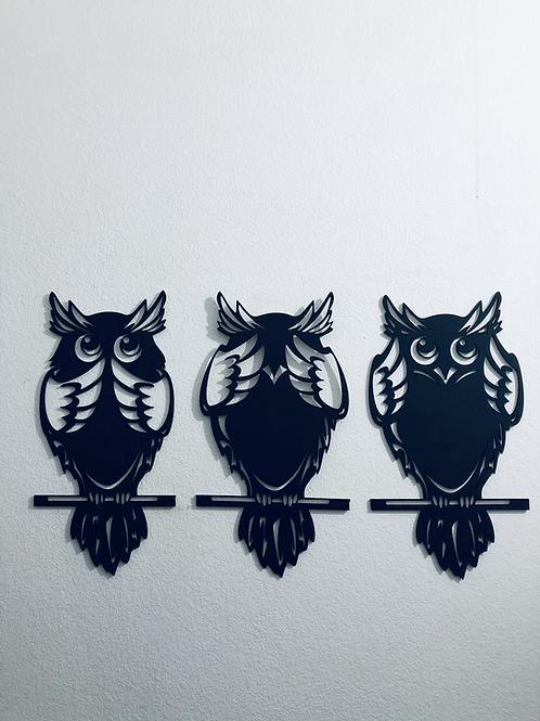 Tres Búhos Sabios