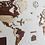 Thumbnail: Wooden Travel Map World Puzzle - Tricolor Vintage