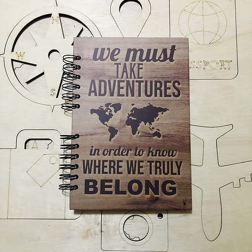 Bitácora de viaje Adventures Black