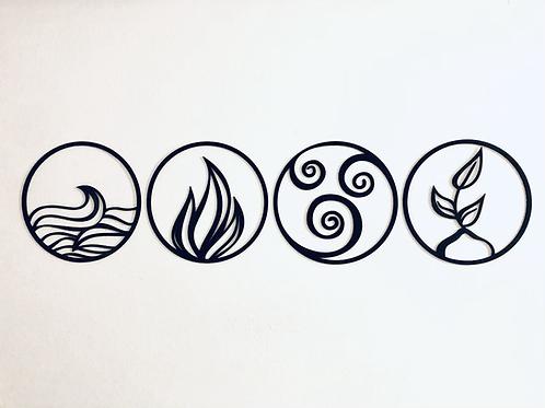 Set de cuadros 4 Elementos