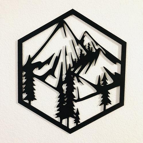 Mini cuadro  Montaña 2