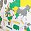 Thumbnail: Wooden Travel Map World Superstar Spring
