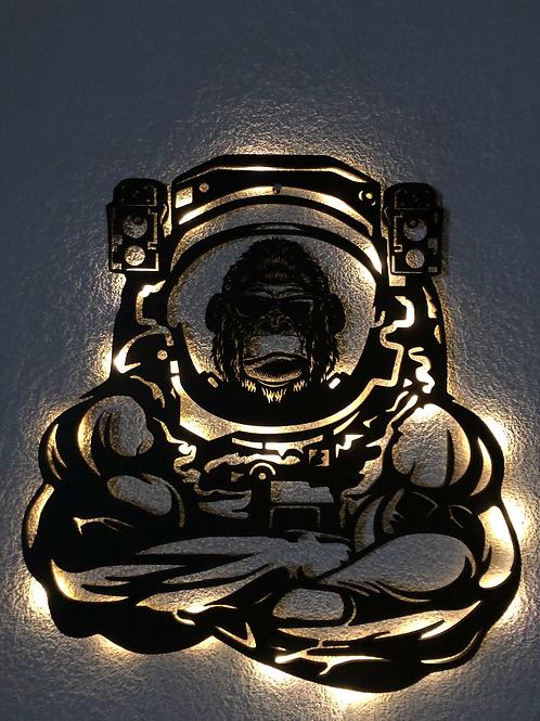 Gorilla Astronauta con luz led