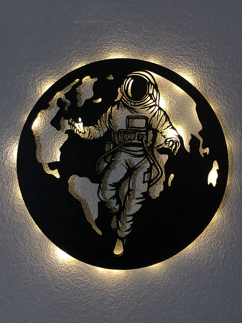 Astronauta con Luz Led