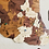 Thumbnail: Wooden TM Pueblos Mágicos México con Dibujos - Grande - Vintage