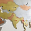 Thumbnail: Wooden Travel Map World Tricolor Treasure Limited Edition