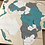 Thumbnail: Wooden Travel Map World Puzzle - Tricolor Fresh