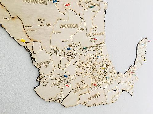Wooden TM México Top Destinos y Mundo - Paquete
