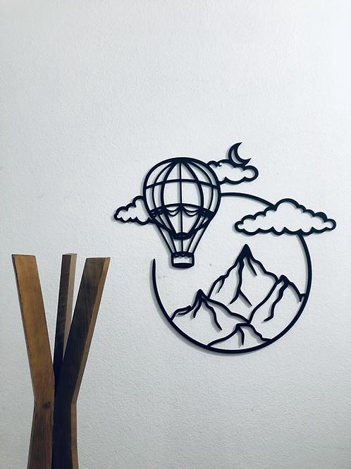 Montaña y Globo