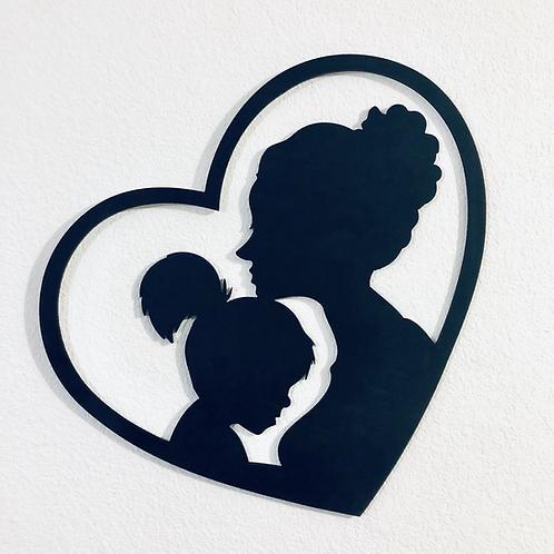 Mini cuadro Mamá e Hija