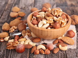 You need to get nutty about nuts!