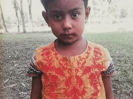 Ich bin Fatema, ich bin 6 Jahre alt und lebe in Bangladesch