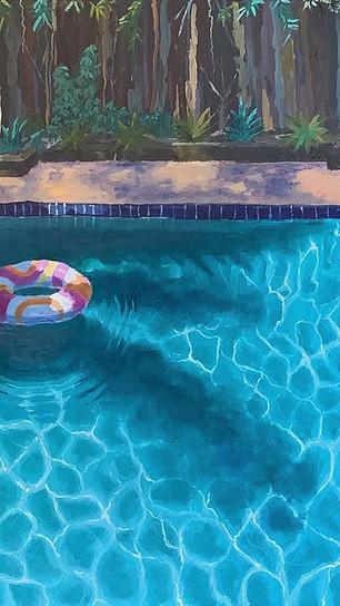 Seagren, Steve  - Sherman Oaks #1 - Acrylic on Canvas - 22 Inches x 26 Inches - $1,600.jpg