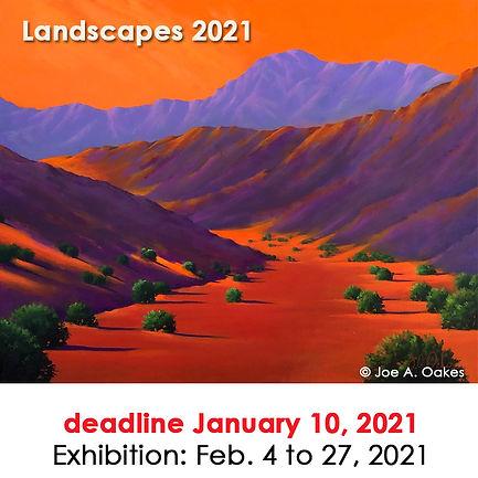 2021 Landscapes at Las Laguna Gallery 90