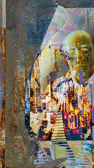 Debley, Tom - Chaos in the Time of Covid-19 - Digital Photograph Montage - 8 Inches x 10 I