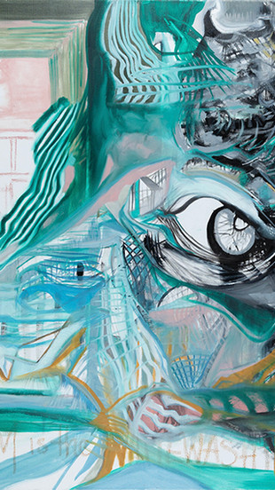 Blake, Colby Noble - In Difference We Trust - Oil on Canvas - 36 Inches x 48 Inches - $2,0