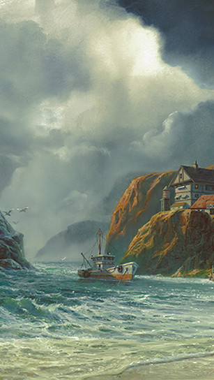 Humphries, Michael - Sanctuary - Gouache_Watercolor - 15 Inches x 20 Inches - $4,500.jpg