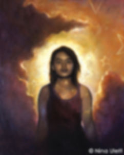 Nina Ulett - While It's Spring - Oil Pai