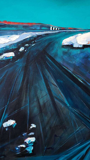 Archer, Holly - With Ice We Live - Acrylic - 30 Inches x 28 Inches - $3,800.jpg