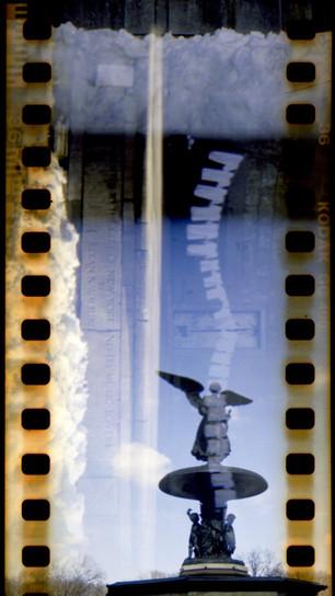 Smith, Pauline - Bethesda Fountain, Central Park - Film Photography, Metallic Paper Inkjet