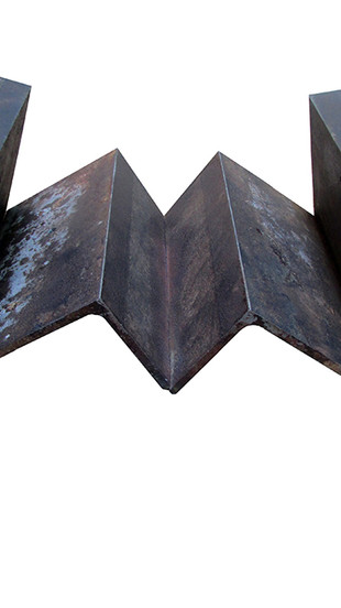 Richardson, Wiliam G - Zendo 23 - Welded Steel - 17 Inches x 6 Inches x 10 Inches - $500.j