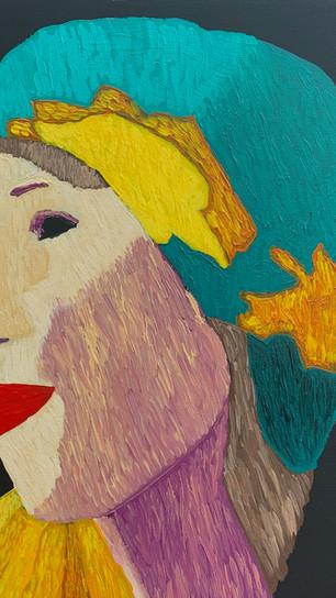 Anastos, Cecilia - La Macedonia - Acrylic on Canvas - 20 Inches x 20 Inches - $800.jpg