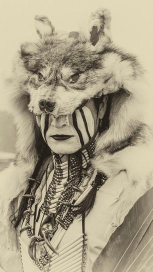 Behr, Debra - Native American - Photograph Digitally Enhanced - 28 Inches x 20 Inches - $7