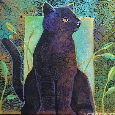 _Garden Cat - Lynne Adamson Adrian - 10