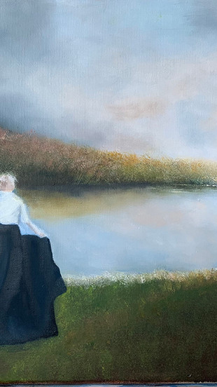 Henry, Rebecca G. - Forever Longing - Oil on Canvas - 16 Inches x 20 Inches - $1,500.jpg