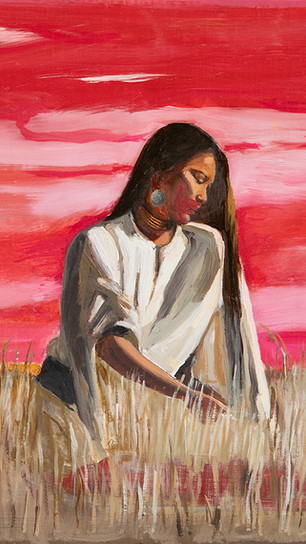 Hirsch, Lindsay - Rape of the Mother - Oil on Canvas - 14 Inches x 18 Inches - $1,900.jpg