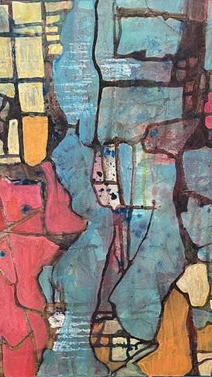 Brown, Mary - La Sagrada Familia - Acrylic - 16 Inches x 16 Inches - $275.jpg