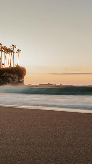 Anderson, Spencer  - Heavenly Laguna Beach Sunrise - Digital Photograph on Acrylic - 20 In