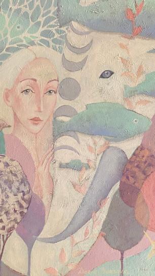 Borisova, Daria - Unity - Acrylic on Canvas - 30 Inches x 30 Inches - $2270.jpg