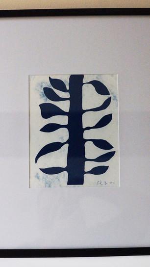 Swetland, Gordy Lee - Thalia 2 - Cyanotype_Print Making - 10 Inches x 8 Inches - $375.jpg