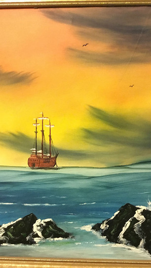 TMM - Safe Anchor - Oil - 16 Inches x 20 Inches - $700.jpg