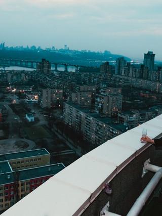 Романтика на даху в Києві