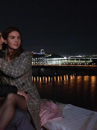 Романтическая ночь на крыше  с видом на Киев