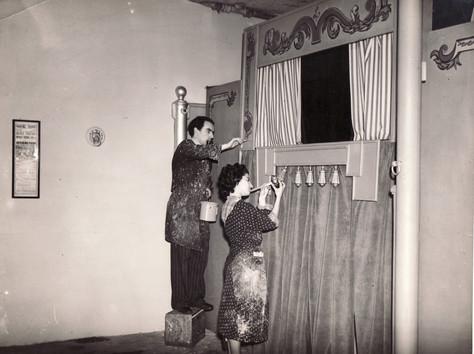 Belgrave Mews Theatre Preparation 1951.j