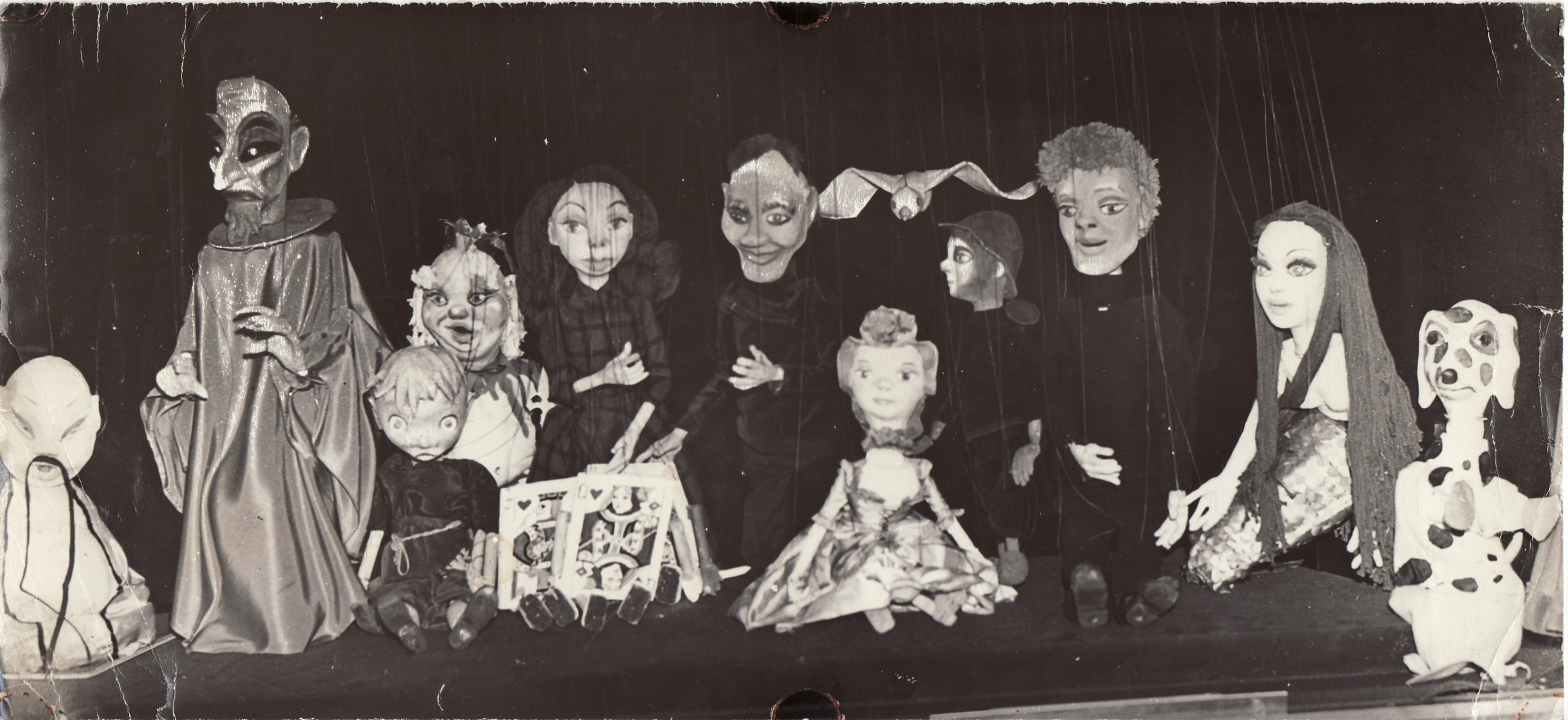 A Motley Crew Puppets from The Shepherde