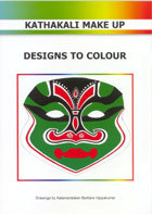 Kathakali Make-Up; Designs to Colour