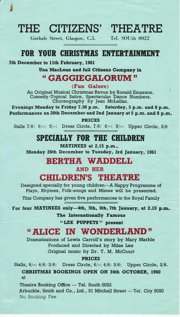 Citizens Theatre Flyer Alice 1961.jpg