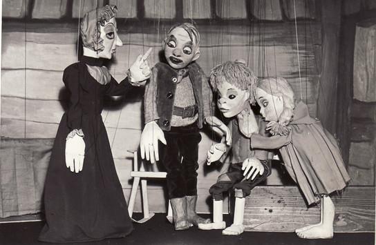 Hansel & Gretel Stepmother & Woodcutter.
